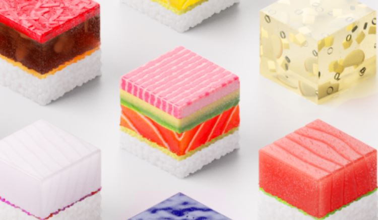 3-d printed sushis
